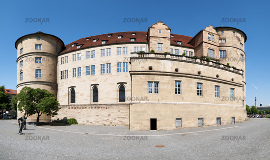 Old castle in Stuttgart - Germany