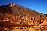 Volcano Teide with Los Roques de Garcia