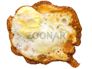 burnt egg