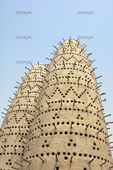 Pigeon towers, Katara Cultural Village, Doha,Qatar