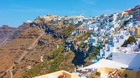 Fira in Santorini Island in Greece