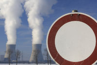 symbolic image against nuclear power