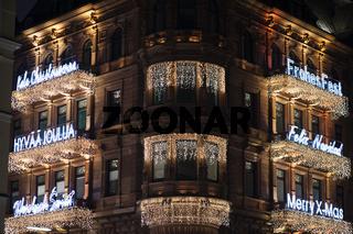 Hamburger Gebäude Beleuchtung