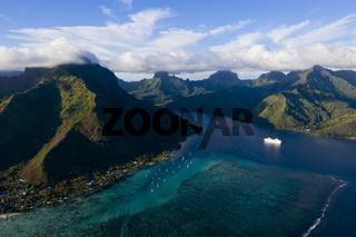 Opunohu Bucht, Franzoesisch Polynesien
