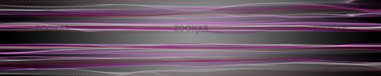 Abstract elegant romantic wave panorama background design illustration