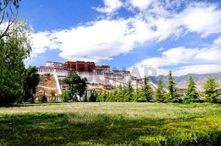 Potala Palast in Lhasa Tibet