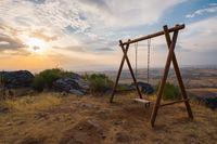 high mountain swing