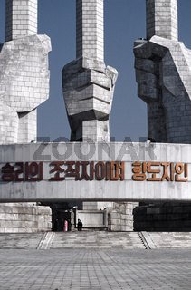 Denkmal der Arbeiterpartei Nordkoreas