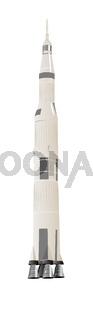 Large Space Rocket Saturn-5