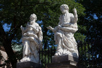 Apostles Sculptures in Krakow