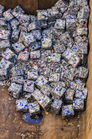 recycling of aluminum beverage cans