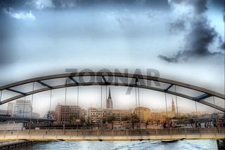 Hamburg und seine Brücken