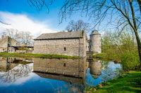 Medieval Water Castle Ratingen, near Dusseldorf, Germany