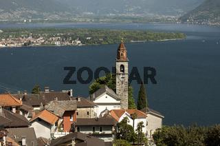 Ronco sopra Ascona am Lago Maggiore