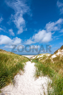 Amrum - Strandaufgang