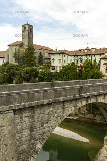 Devil's Bridge in Cividale Italy