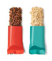 Closeup of chocolate bar