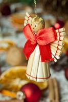 Handmade christmas angel