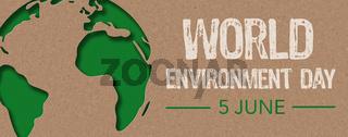 Paper cut - World environment day