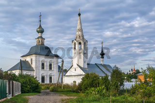 Church of the Epiphany and Church of the Nativity of John, Suzdal, Russia
