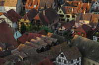 Roofs of the old town in the morning light