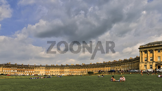 UK Somerset Bath The Royal Crescent
