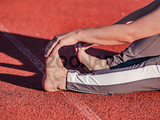 Preventive exercises against cramps and injuries of tendons and muscles.
