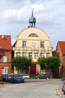 Rehna, Rathaus, Mecklenburg-Vorpommern, Deutschland