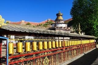 Klosteranlage Palkhor mit Tsuklahang-Tempel  Gyantse  Tibet China