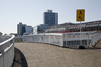 Pedestrian path at the Rathaus-Galerie, Leverkusen, North Rhine-Westphalia, Germany, Europe