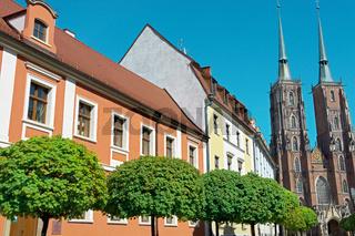 Dominsel mit Breslauer Dom
