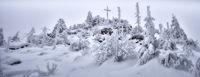Severe frost on the Hochstein