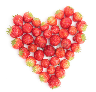 heart of strawberries