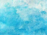 Pastel Blue Gradient Watercolor Background