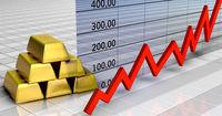 Gold price rises