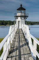 Doubling Point Lighthouse, Arrowsic, Maine, New England, United States of America