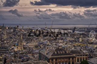 Ancient port of Genoa