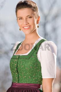 Portrait eines Bayerischen Mädchens