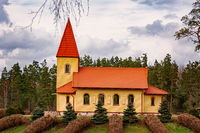 Сhurch in the countryside