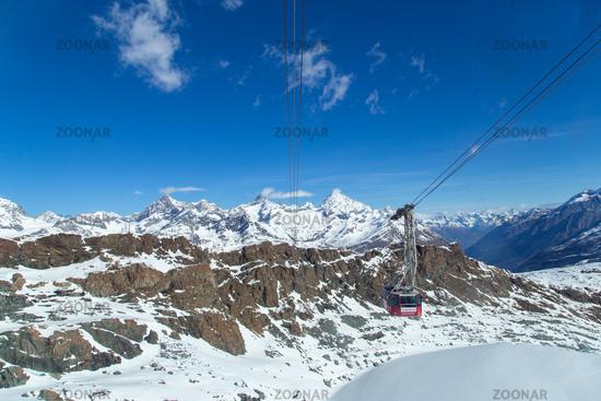 Mount Klein Matterhorn Cable Car