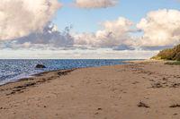 The beach in Bakenberg, Mecklenburg-Western Pomerania, Germany