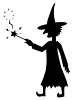 Witch Silhouette, Magic Fizzle