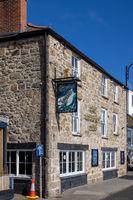 ST IVES, CORNWALL, UK - MAY 13 : View of the Lifeboat Inn at St Ives, Cornwall on May 13, 2021
