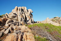 Rock formations at