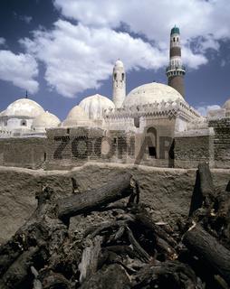 Grabmoschee des Gründer-Imams al-Hadi Jachjah und elf weiterer Imame in Sada