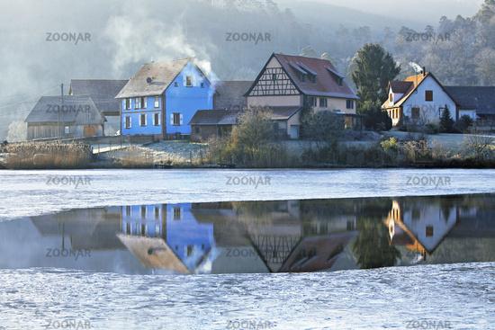 Lac Baerenthal, Lorraine, France