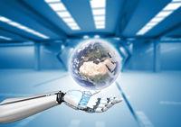 Humanoid Robot Globe