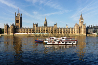 The Houses of Parliament in London