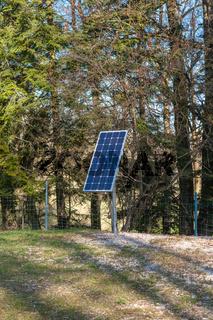 Solarenergie in der Natur