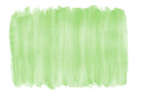 green watercolor background with brushstroke texture and rough edges